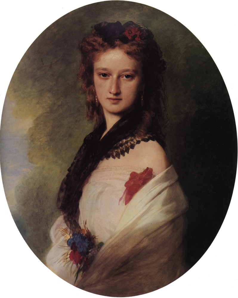 Zofia Potocka Countess Zamoyska by Franz Xavier Winterhalter