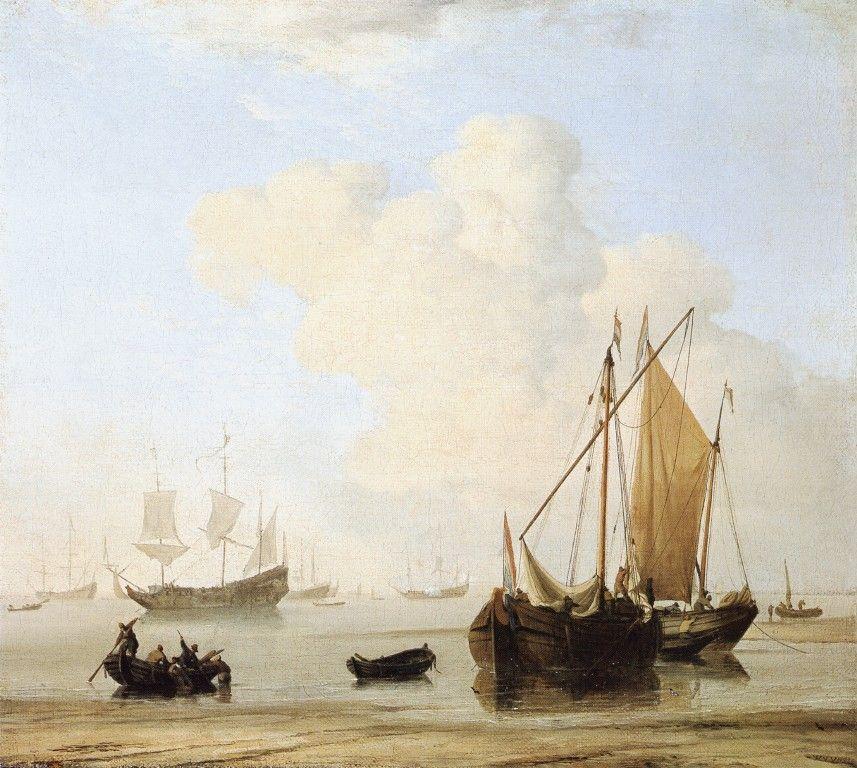 A Calm by Willem van de Velde the Younger