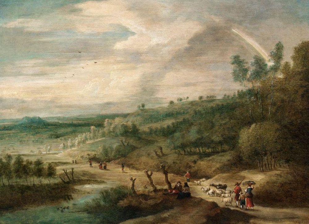 An Extensive Landscape by Lucas Van Uden
