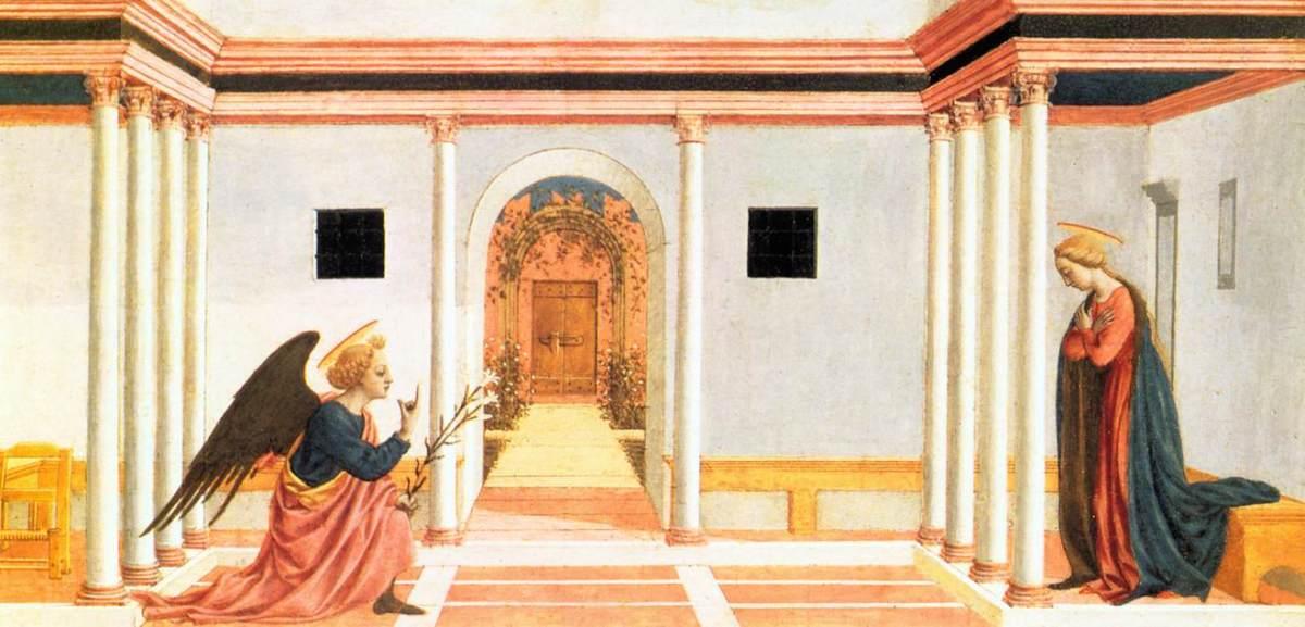 Annunciation by Domenico Veneziano