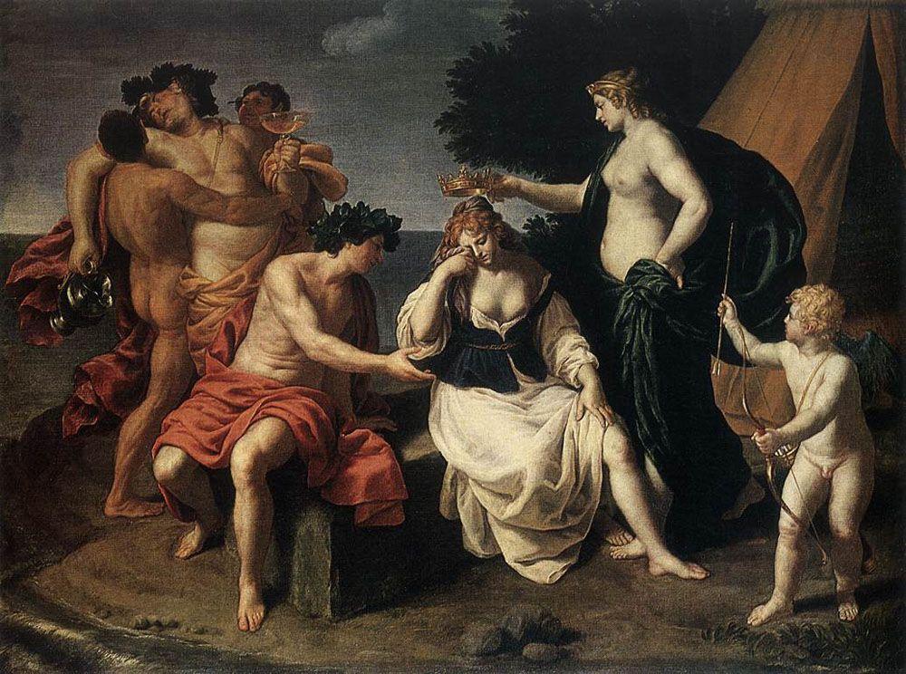 Bacchus and Ariadne by Alessandro Turchi