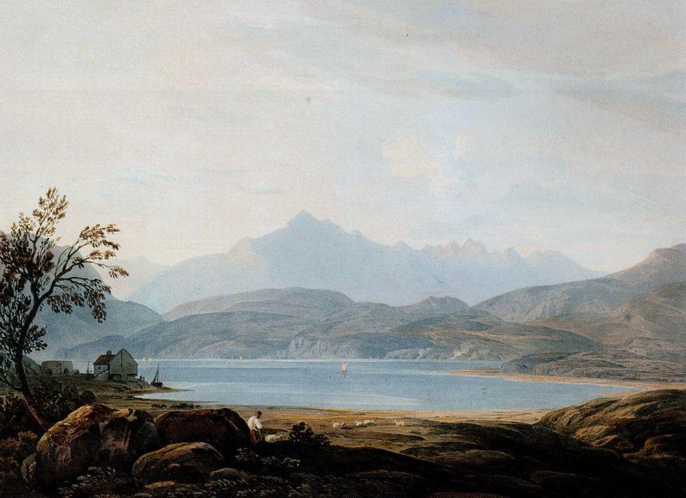 Cader Idris North Wales by John Varley