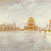 Court of Honor, World's Columbian Exposition by John Twachtman
