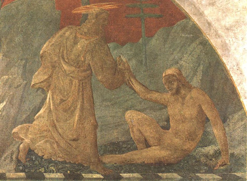 Creation of Adam by Paolo Uccello