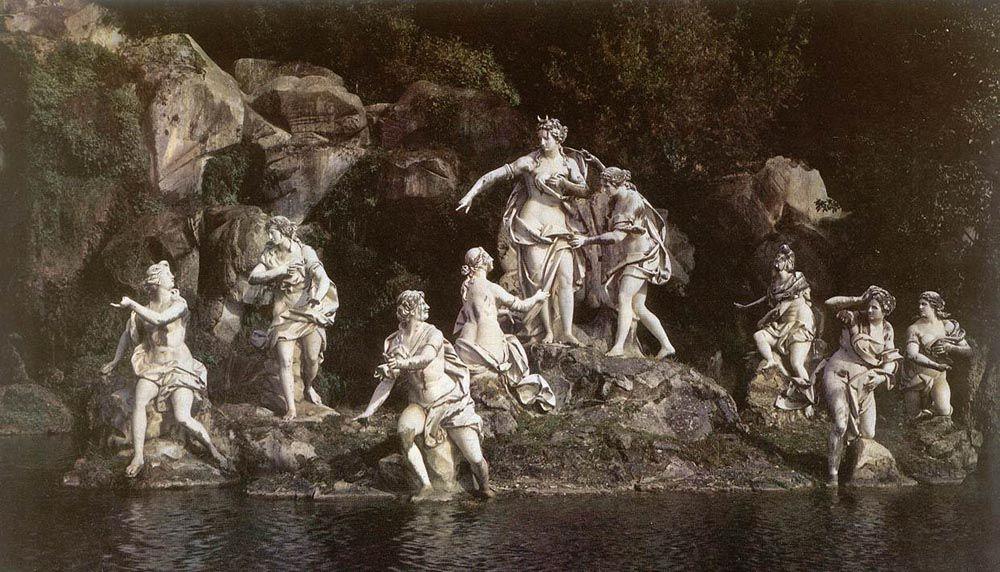 Diana and Acteon by Luigi Vanvitelli