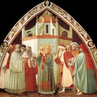 Disputation of St Stephen by Paolo Uccello
