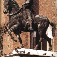 Equestrian Statue of Colleoni by Andrea del Verrocchio