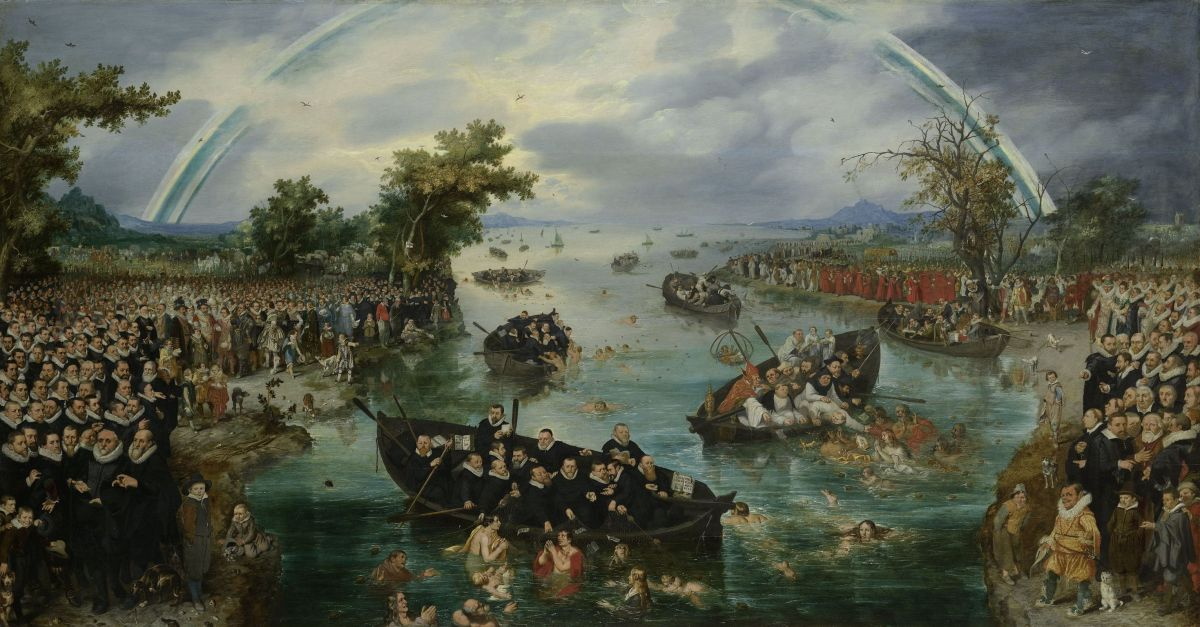 Fishing for Souls by Adriaen Pietersz van de Venne