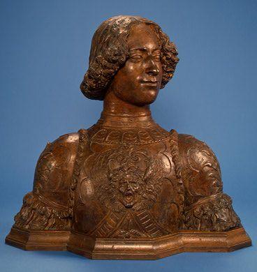 Giuliano de Medici by Andrea del Verrocchio