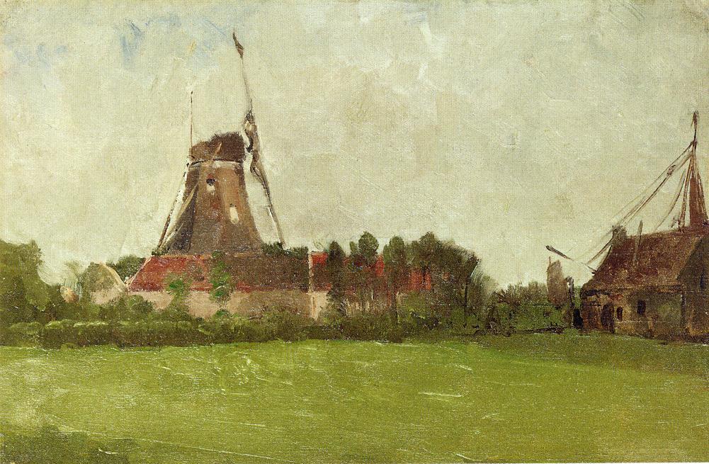 Holland by John Twachtman