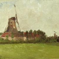 Holland by John Twachtman