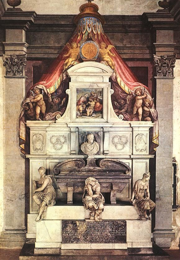 Monument to Michelangelo by Giorgio Vasari