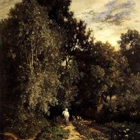 Path In A Small Wood by Constant Troyon
