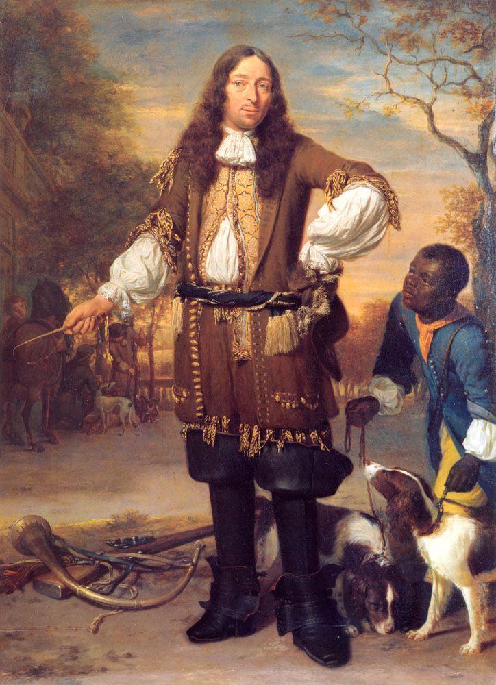 Portrait of Johan de la Faille by Johannes Verkolje