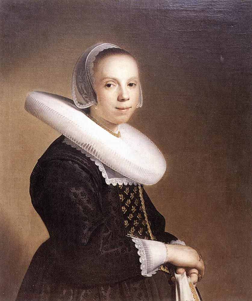 Portrait of a Bride by Johannes Cornelisz Verspronck