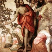 St John the Baptist Preaching by Paolo Veronese