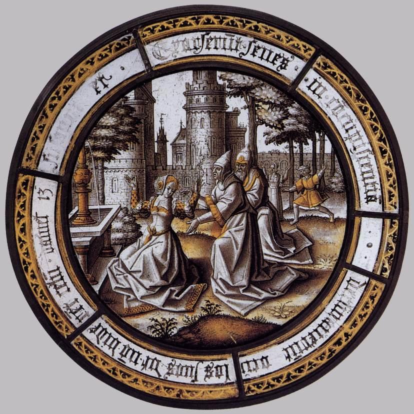 Susanna and the Elders by Aert Van Ort