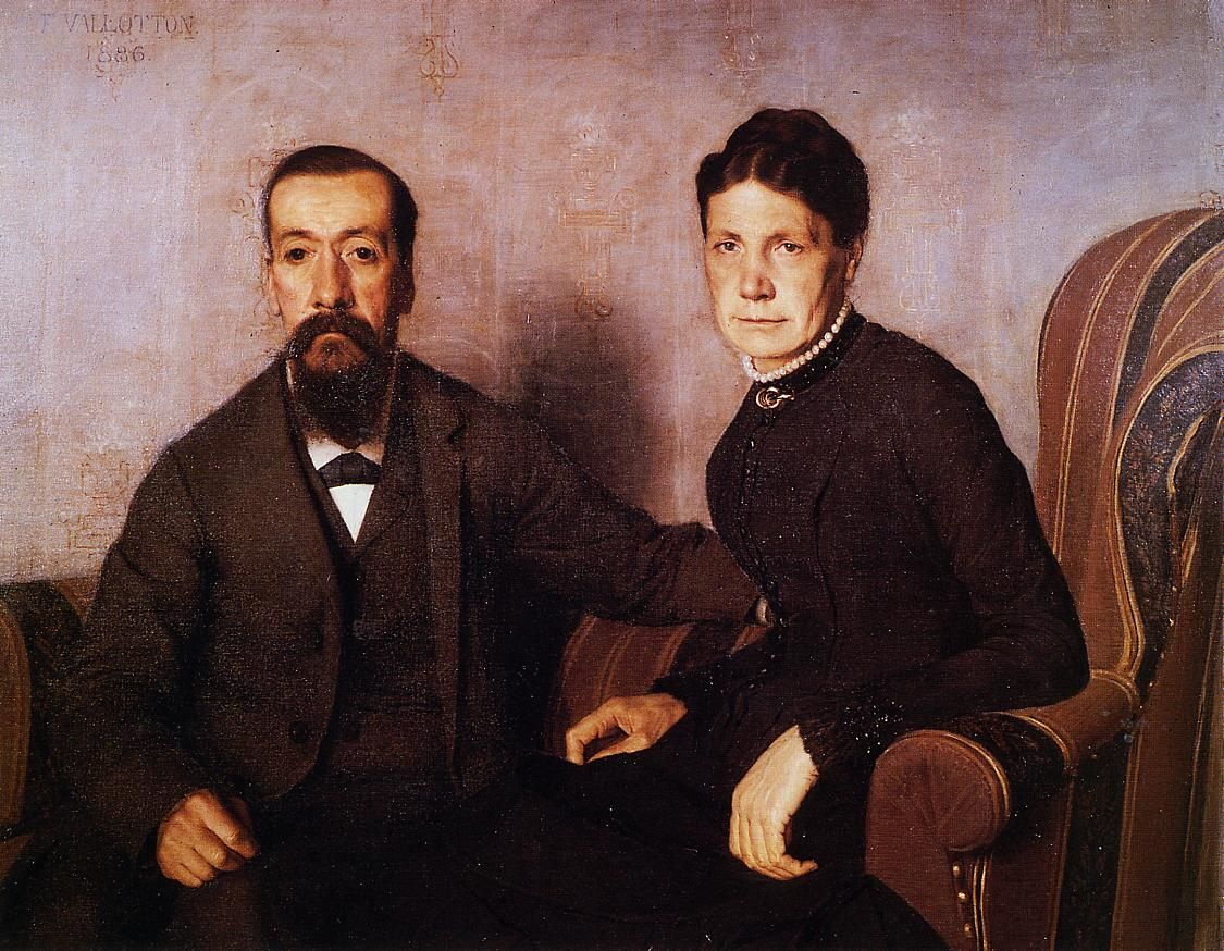 The Artists Parents by Felix Vallotton