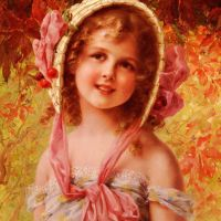 The Cherry Bonnet by Emile Vernon
