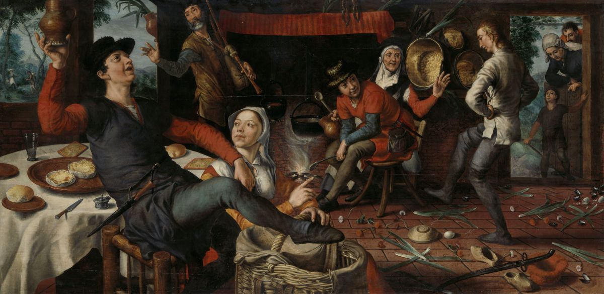 The Egg Dance by Pieter Aertsen