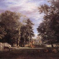 The Farm by Adriaen van de Velde