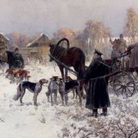 The Hunting Party by Jaroslav Fr. Julius Vesin
