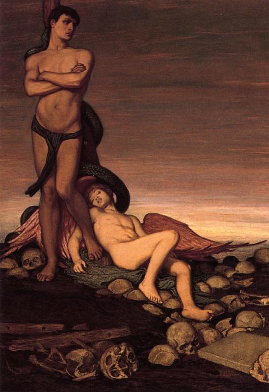 The Last Man by Elihu Vedder