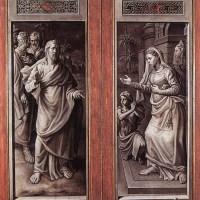 Triptych of the Micault Family (closed) by Jan Cornelisz Vermeyen