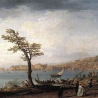 View of Naples by Claude Joseph Vernet