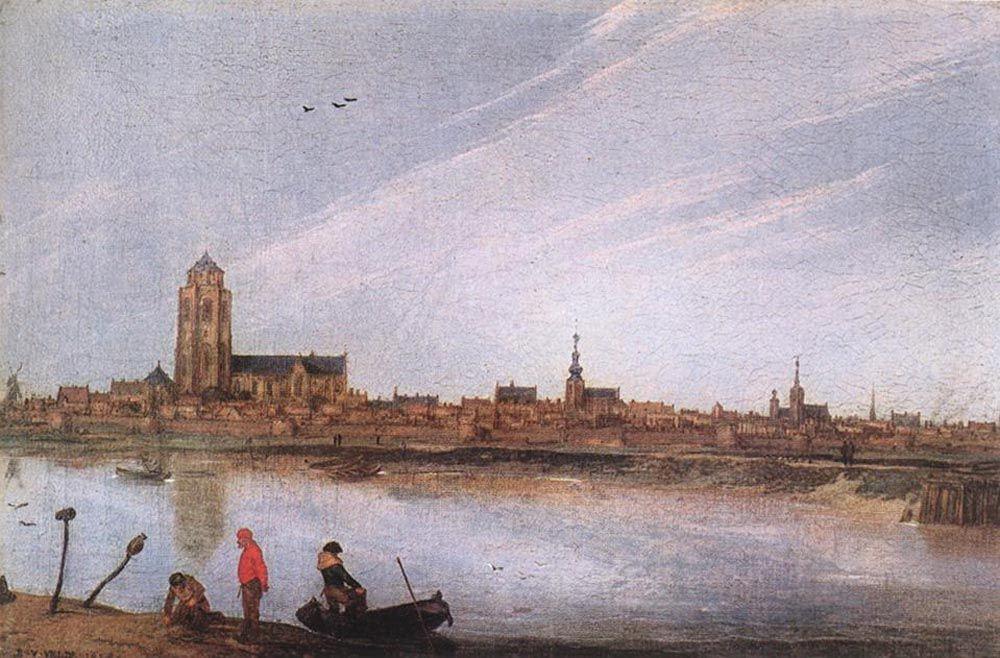 View of Zierikzee by Esaias van de Velde