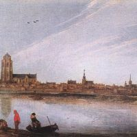 View of Zierikzee by Esaias van de Velde