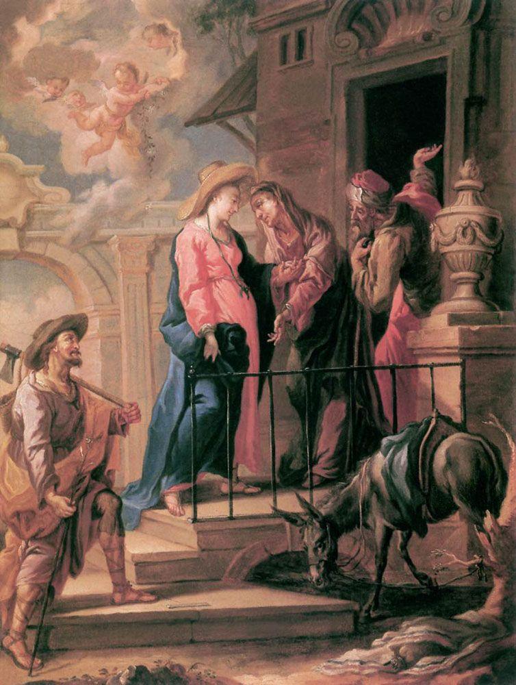 Visitation by Michelangelo Unterberger