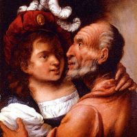 Youth And Old Age by Pietro Della Vecchia