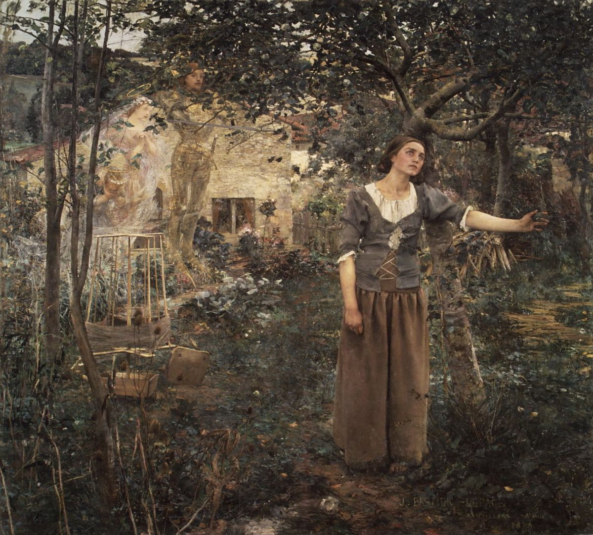 Joan of Arc by Jules Bastien Lepage