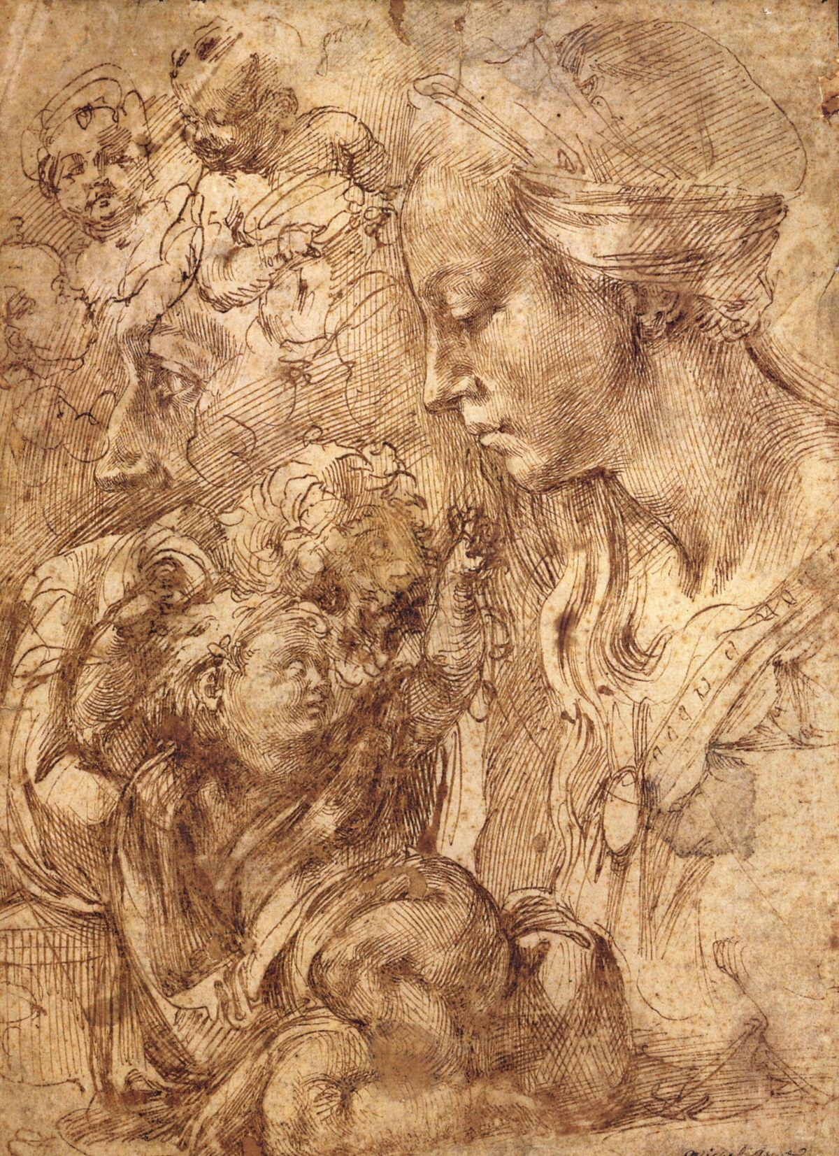 Studies by Benvenuto Cellini