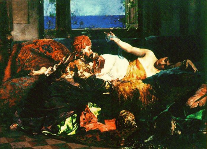 A preferida do sultao by Edouard Frederic Wilhelm Richter