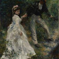 La Promenade by Pierre Auguste Renoir