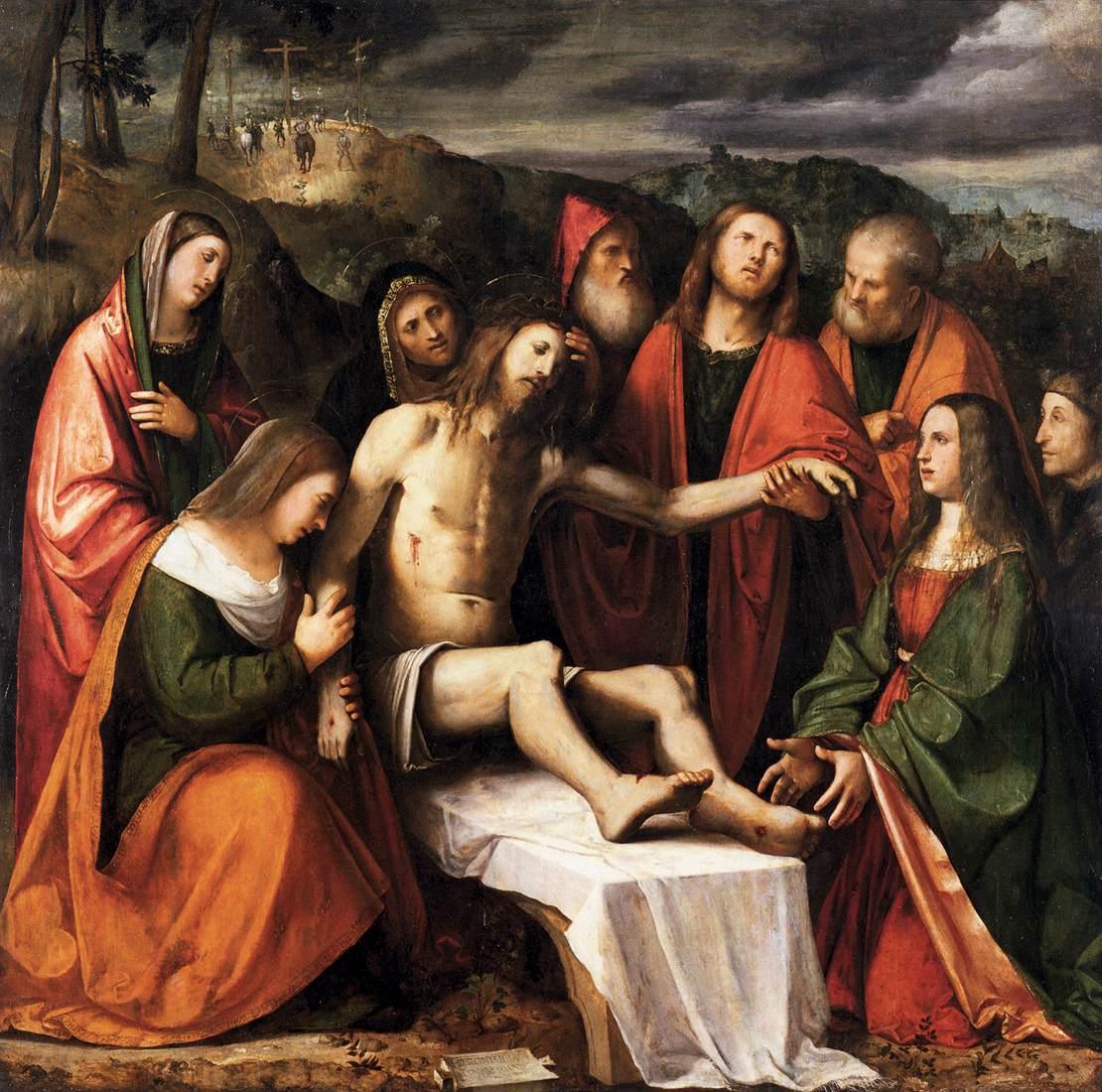 Pieta by Romanino
