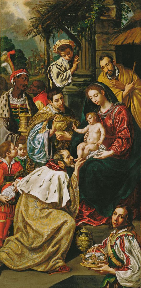 The Adoration of the Magi by Luis Tristan De Escamilla