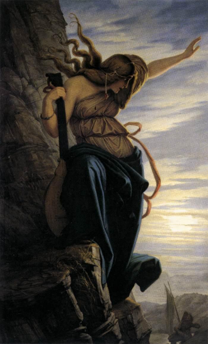 The Lorelei by Edward von Steinle