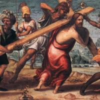 The Road to Calvary by Il Sodoma