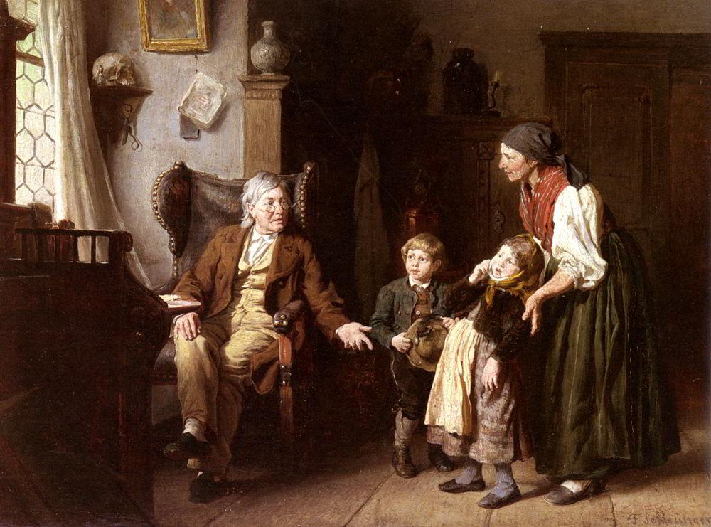 Besuch Beim Grossvater by Felix Schlesinger
