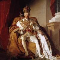 Emperor Franz I of Austria in his Coronation Robes by Friedrich von Amerling