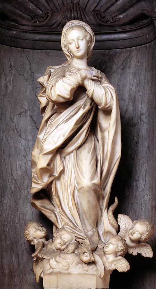 Immaculate Conception by Francesco Maria Schiaffino