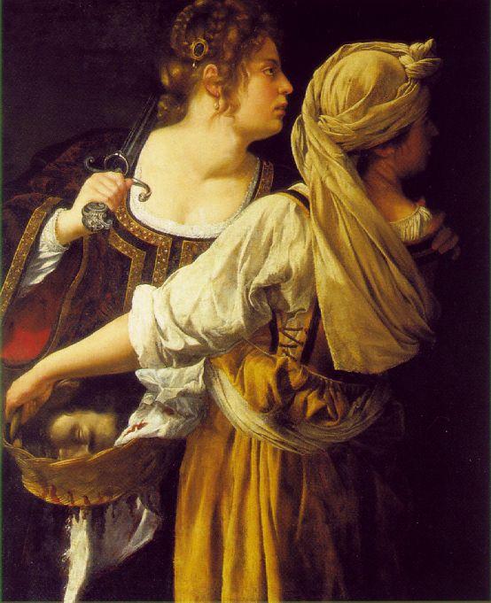 Judith and her Maidservant by Artemisia Gentileschi