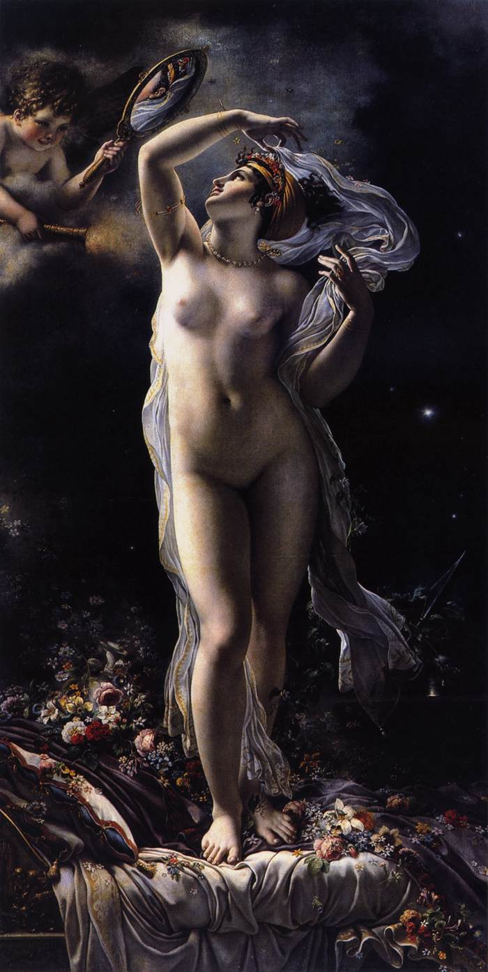 Mademoiselle Lange as Venus by Anne Louis Girodet de Roucy Triosson