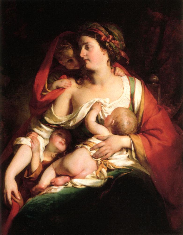 Mutter Und Kinden by Friedrich von Amerling