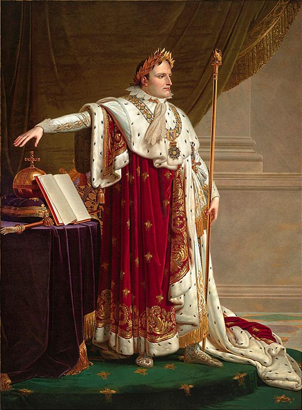 Napoleon IER en Costume de Sacre by Anne Louis Girodet de Roucy Triosson