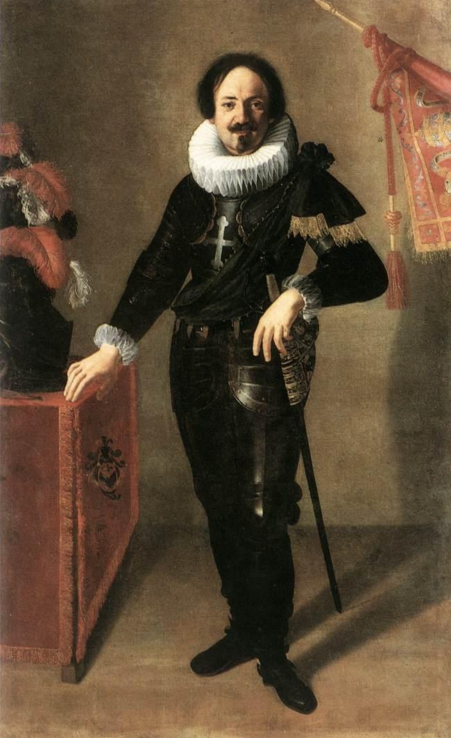 Portrait of a Condottiero by Artemisia Gentileschi