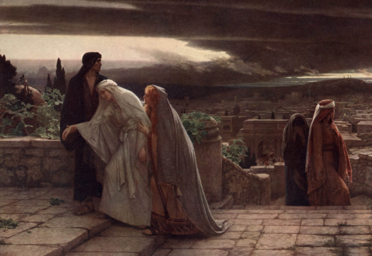 Return from Calvary by Herbert Gustave Schmalz